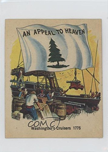 washingtons-cruisers-1775-trading-card-1976-quality-bakers-flags-of-america-base-non