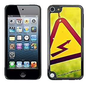 Hot Style Cell Phone PC Hard Case Cover // M00102868 photos voltage high // Apple ipod Touch 5 5G 5th