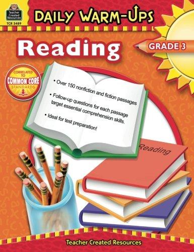 Daily Warm-Ups: Reading, Grade 3 ()
