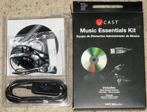V CAST VERIZON MUSIC ESSENTIALS KIT VX8550 VX9400 VX9900 - Verizon Music