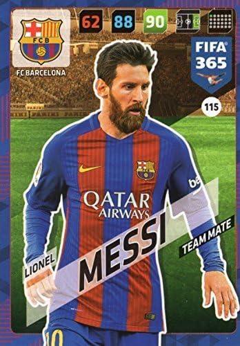 Amazon Com Fifa 365 2018 Lionel Messi Team Mate Card Panini Adrenayln Xl Fc Barcelona 115 Toys Games