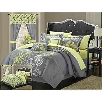 Amazon.com: Livia 20-Piece Reversible Comforter Set