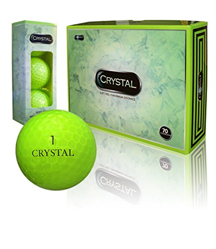 *NEW COLOR!* Crystal Golf ''Flash Green'',pack of 12 by Crystal by Fl Golf, Inc