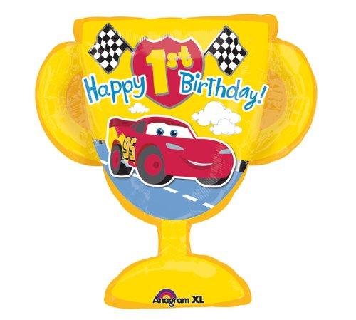 Mayflower Products Disney Cars Happy 1st Birthday 26