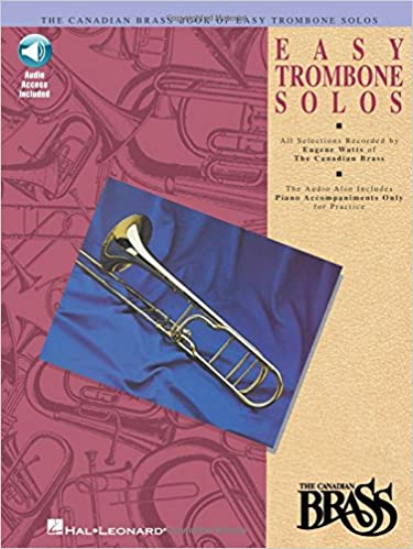 Amazon.com  Canadian Brass Book of Easy Trombone Solos  With Online Audio  of Performances and Accompaniments (9780793572519)  The Canadian Brass 701cfb072