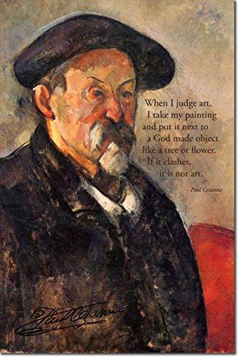 Paul Cezanne Art Print Photo Poster 12x8 Inch Unique Gift Quote