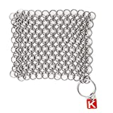 KnappMade CM Scrubber - Chain Mail Cast Iron Pan Scrubber