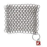 KnappMade CM Scrubber - Chain Mail Cast Iron Pan Scrubber