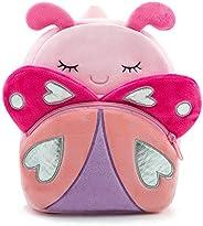 Nice Choice Cute Toddler Backpack Toddler Bag Plush Animal Cartoon Mini Travel Bag for Baby Girl Boy 2,3,4,5 Y