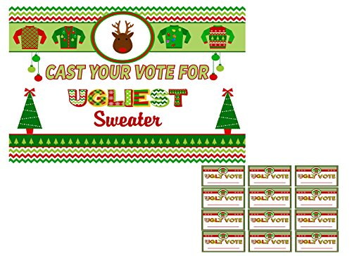Ugly Christmas Sweater Party Invitations Supplies And Decorations