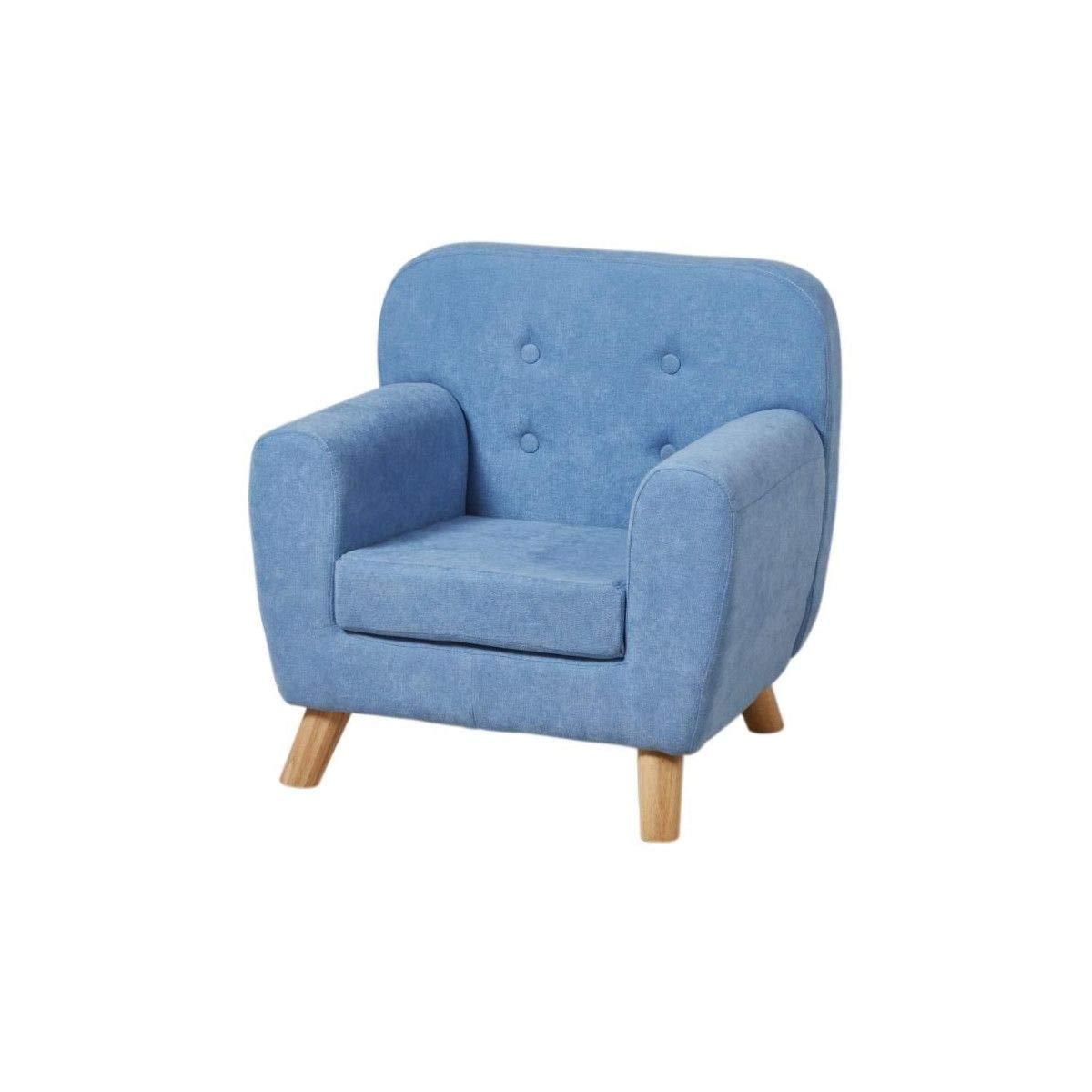 57 x 46 x 56,5 cm Sill/ón Infantil Azul