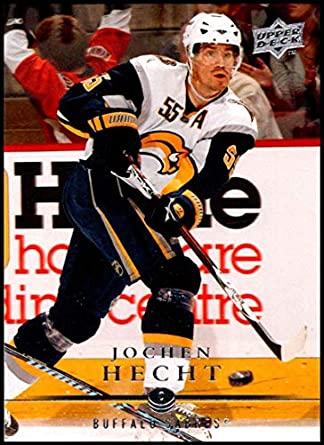 2008-09 Upper Deck  273 Jochen Hecht NM-MT Buffalo Sabres Oficial NHL dd1d82861