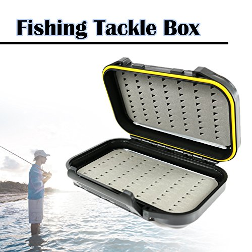The Elixir Outdoor Waterproof Fly Fishing Box Double Side Ice Fishing Tackle Case Box Storage (Fly Fishing Tackle Box compare prices)