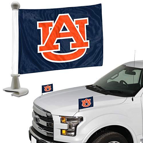 (ProMark NCAA Auburn Tigers Flag Set 2Piece Ambassador Styleauburn Tigers Flag Set 2Piece Ambassador Style, Team Color, One Size)