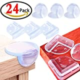 #10: KeNeer 24Pack Baby Proofing Corner Guards, with Double Sided Oily Adhesive, Safety Protector for Table, Chair, Cabinet and Other Furniture with Corner, (Triangle & Ball Shaped with Backup Adhesive)