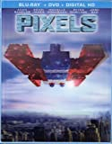 Pixels: Limited Edition Exclusive Lenticular Cover (Space Invaders) [Blu-Ray, DVD + Digital HD]