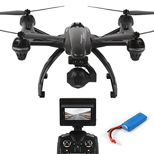WIFI FPV 5.8G Drone 507G with 2.0MP HD Camera Dazhong ReaL-Time WIFI Transmission Headless Mode with 2 Batteries Long Flying Time Drone by DAZHONG