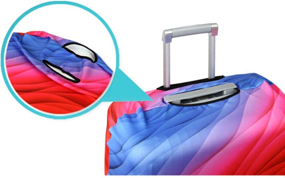 BonTime Housse de Protection pour Valise de Voyage Zipper Valise Cover Print Cover Fit 18-32 Pouces