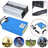 Batería de ión de litio de repuesto de 48V 20AH para bicicletas eléctricas, para bicicletas de bicicleta eléctrica
