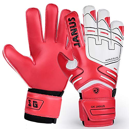 a315e92e1 Buy HATCHMATIC 2017 Professional Children Football Gloves Mens Thicken  Latex Football Goalkeeper Gloves Kids Soccer Goal Keeper Training Gloves:  Size 9 ...