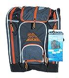 Kulkea Boot Trekker - Ski Boot Backpack, Grey/Black/Orange