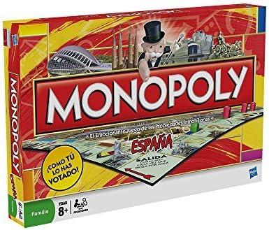Monopoly - España (Hasbro 01610105): Amazon.es: Juguetes y juegos