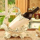 SED Household Wine Shelf Cup Holder- Ceramics Personality Creative Luxurious Wine Cabinet Restaurant Kitchen Home Living Room Shelf Practical Wine Rack Home Living Room Shelf Creative Creative Decora