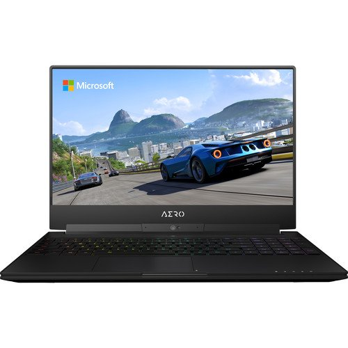 "Price comparison product image GIGABYTE AERO 15W V8-BK4 Premium Gaming and Business Laptop (Intel 8th Gen Coffee Lake i7-8750H 6-cores, 16GB RAM, 512GB SSD, 15.6"" FHD 1920x1080, GTX 1060 Graphics, Thunderbolt3, Win 10 Home)"