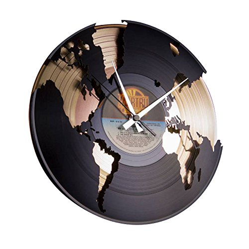 DiscoClock-Orologio-in-Vinile-World-Oro