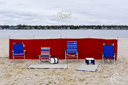 Beachtime Products Canvas Windscreen - 40' x 20'