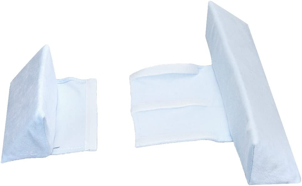 Anti-spit Milk Pillow for Newborn Baby Baby Side Sleep Pillow Blue