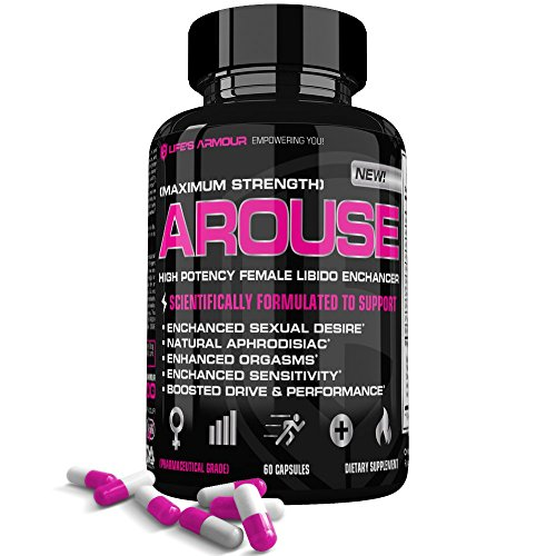 Arouse Female Libido Enhancer by Life's Armour | High Potency Sexual Enhancement Supplement for Women to Boost Sex Drive, Increase sexual desire & sensitivity, All Natural ()