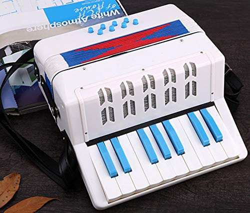 SFQNPA 17 Key 8 Bass Children's Accordion Adult Beginner Educational Toys Early Educational Piano Teaching Instruments Children Toys Children Amateur Beginner by SFQNPA (Image #7)
