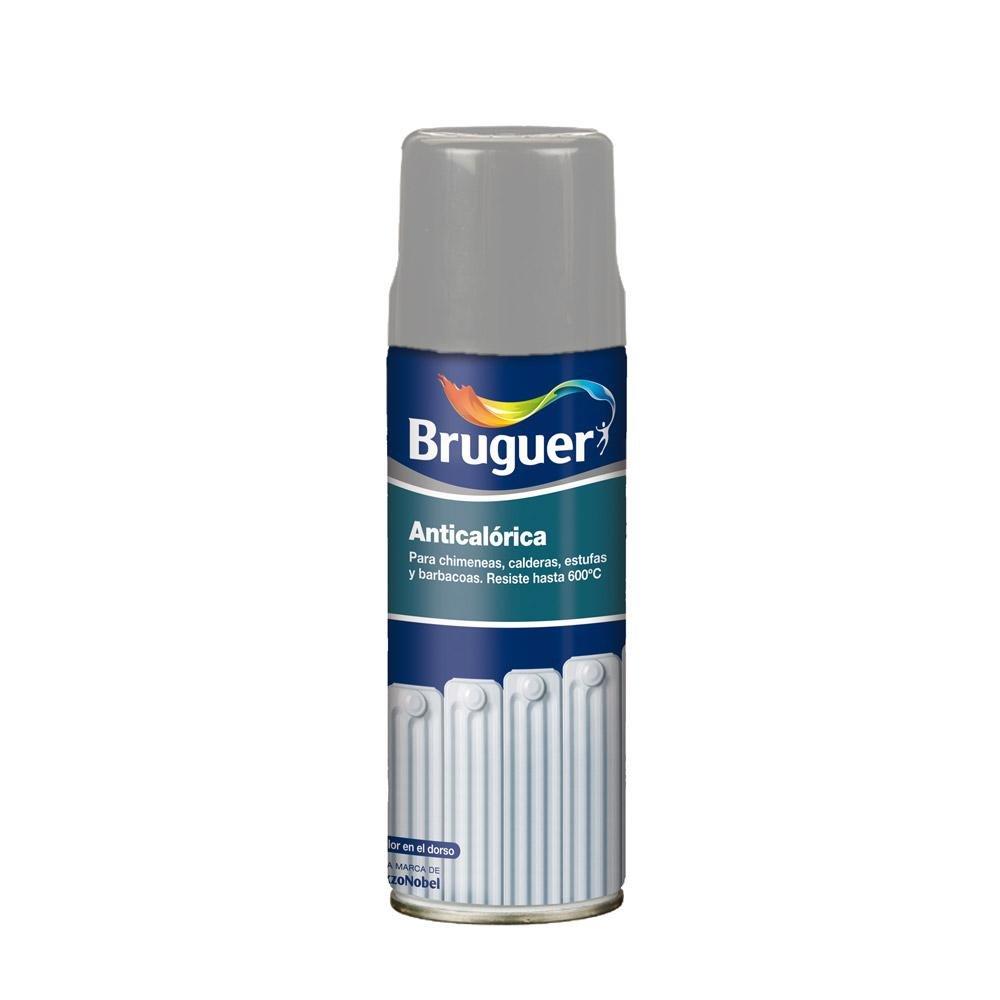 Bruguer 5197995 - Pintura anticaló rica/calorí fica en spray Bruguer color ALUMINIO 400 ml