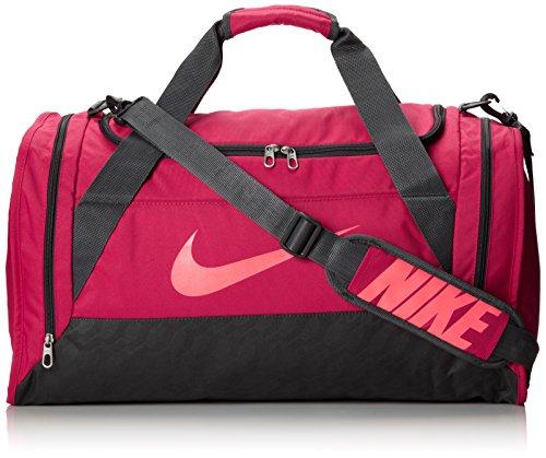 e27c2101f9bb15 Women s Nike Brasilia 6 Medium Duffel Bag Fuchsia Force Anthracite Hyper  Punch Size Medium (B00GBF4IM4)