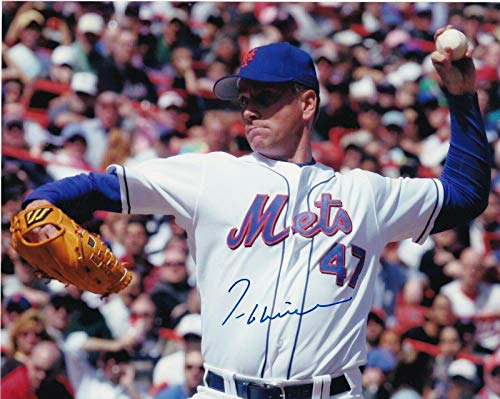 Signed Tom Glavine Picture - 8x10 - Autographed MLB - 8x10 Photo Glavine Autographed Mlb