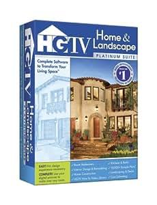 Hgtv home landscape platinum suite old version - Hgtv home design software user manual ...