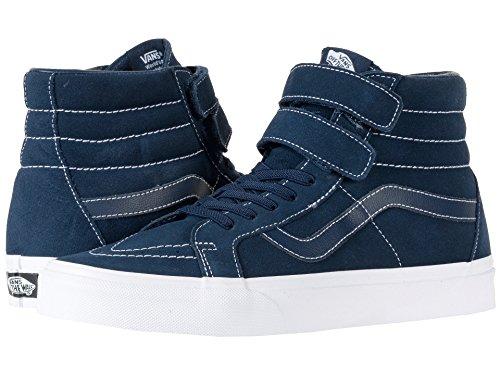 疎外する書き込み薬(バンズ) VANS メンズスニーカー?靴 SK8-Hi Reissue V (White Stitch) Suede/Navy 8.5 (26.5cm(レディース27cm)) D - Medium
