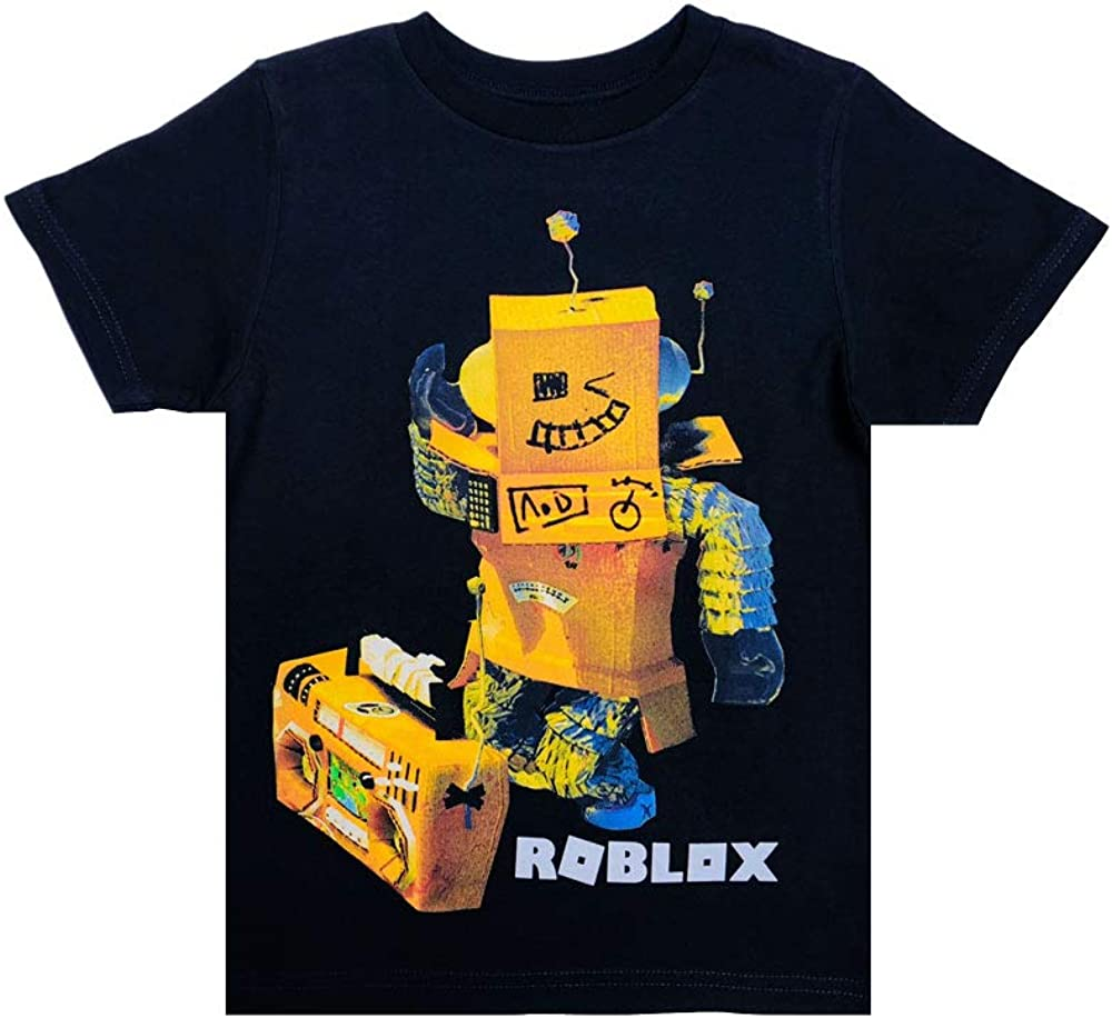 10 Boy Outfit Ideas Roblox 2018 Roblox Clothes Roblox Tshirt For Boys In Black 100 Cotton Medium Amazon Ca Clothing Accessories