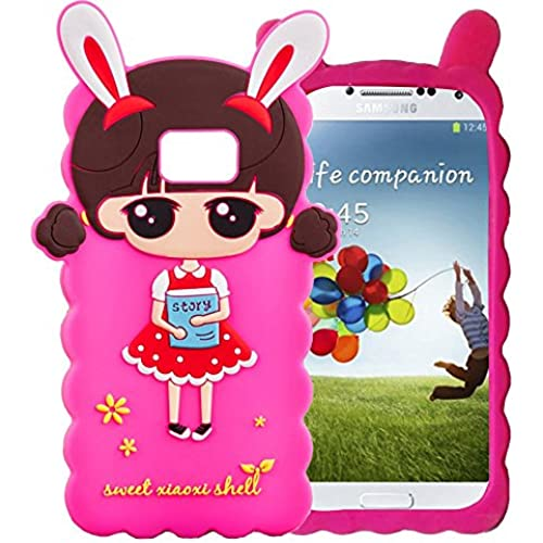 WEIJIAN Phone Case for Samsung Galaxy S7 Fundas Capa Para Capinhas Back Case in Soft Silicone Cute Cartoon Image Sales