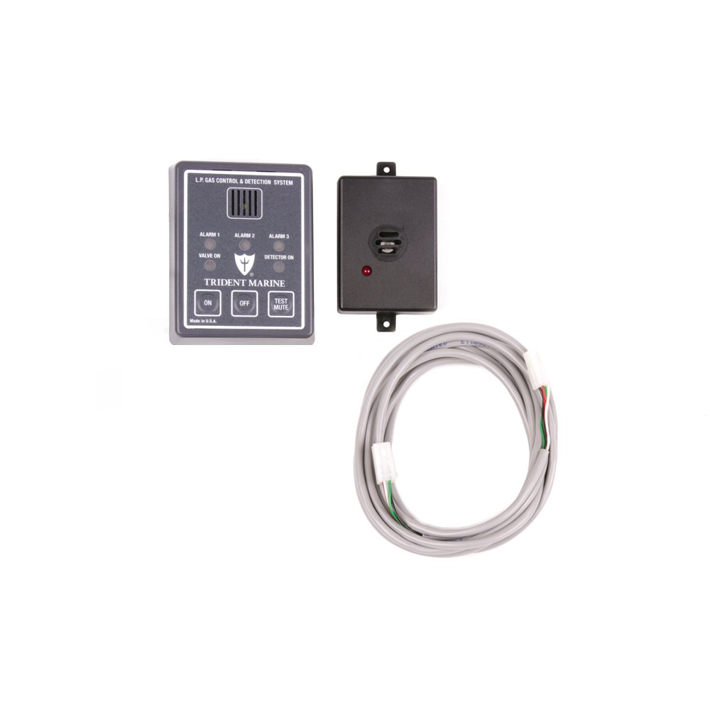 Trident Marine 1300-7760 L.P. Gas Control and Detection System, 12V DC 24VDC SolenoID