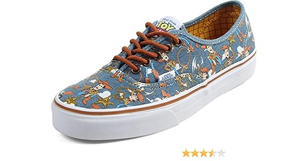 Amazon.com: Vans x Disney Pixar Toy Story Men Authentic - Woody ...