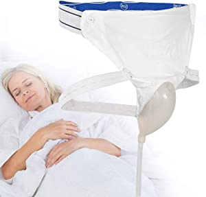 Silicone Urine Collector with 2 Urine Catheter Bags, 3 Type Optional for Man Woman Elderly (Women Type) Reusable Portable Male Comfort Fit Advantage Urinal System