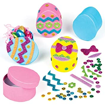 Easter egg gift box craft kits for children to decorate and fill easter egg gift box craft kits for children to decorate and fill with easter treats negle Gallery