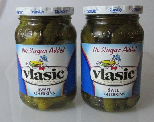 Vlasic No Sugar Added Sweet Gherkins ()