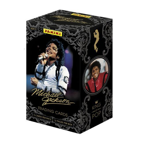 2011 Panini Michael Jackson Trading Card Box