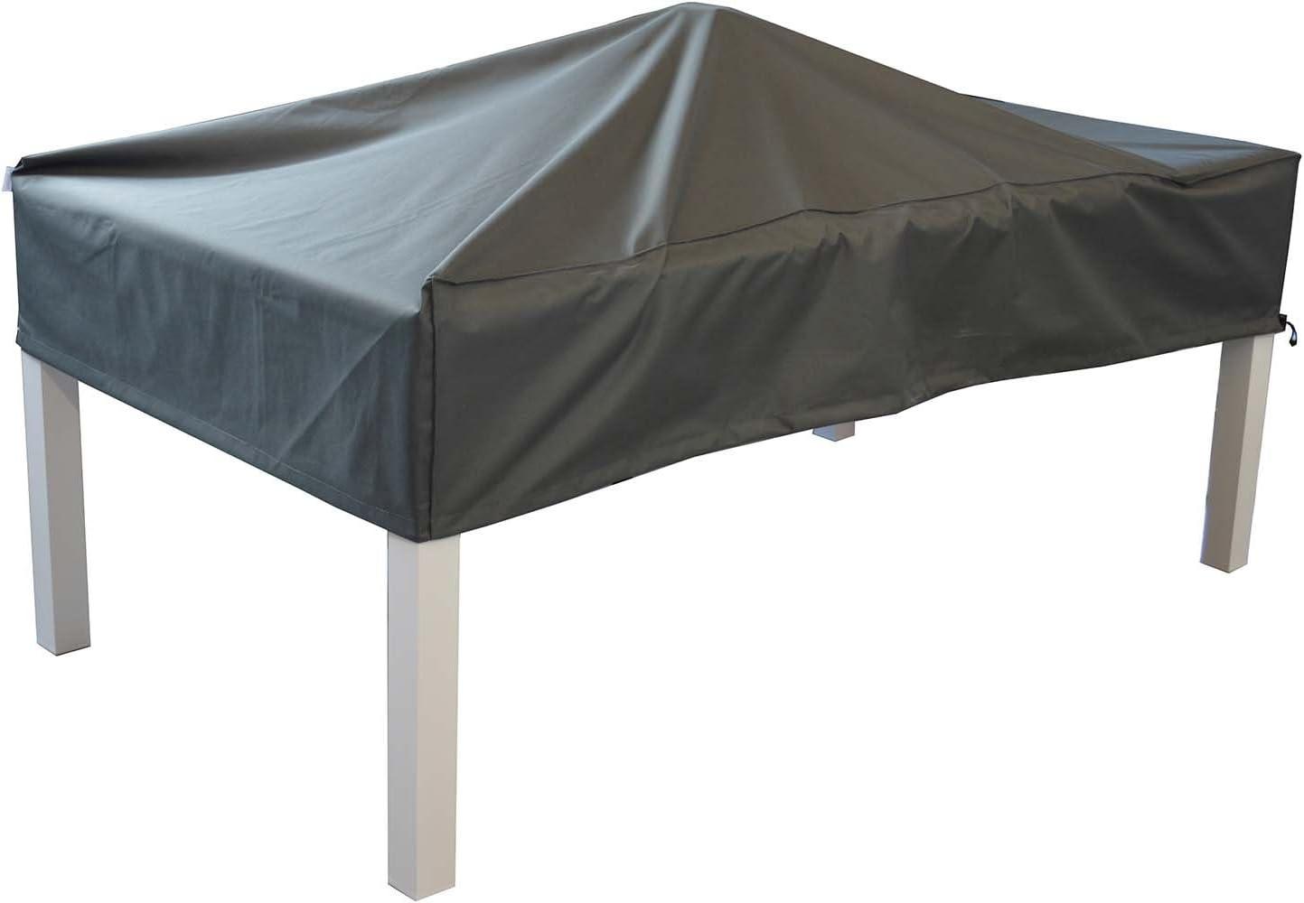 KaufPirat Premium B/âche de Protection pour Meubles de Jardin Noir 120 x 70 x 70 cm