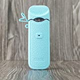 CEOKS for Smok Nord Silicone Case, Anti-Slip Protective Silicone Case Skin Rubber Cover for Smok Nord Mod Box Rubber case wrap Shield (Tiffany Blue)