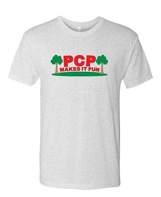 05a4282fc Amazon.com: Guacamole PCP Makes IT Fun - Funny Parks Show Joke - Mens  Cotton T-Shirt: Clothing