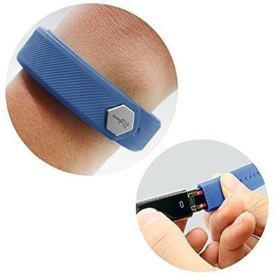 MoreFit Slim Band, Adjustable Replacement Strap for MoreFit Slim Smart Wristbands